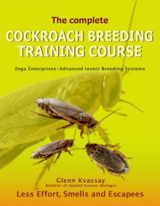Cockroach breeding Training-book cover