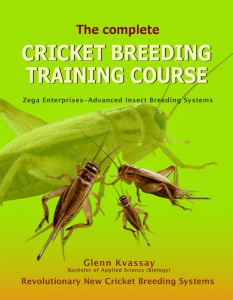 Cricket breeding Training-book cover
